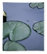 At Claude Monet's Water Garden 2 Fleece Blanket