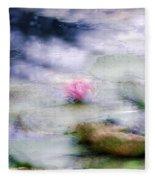 At Claude Monet's Water Garden 12 Fleece Blanket