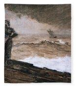 At High Sea Fleece Blanket