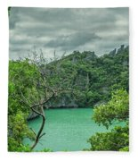 At Moo Koh Angthong Marine Park Fleece Blanket