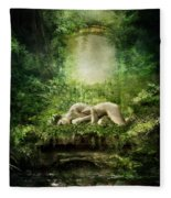 At Sleep Fleece Blanket