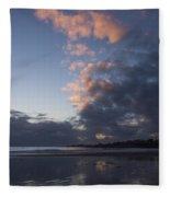 At Sundown 12/24/15 Fleece Blanket
