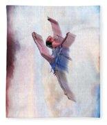 At The Ballet Fleece Blanket