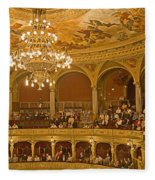 At The Budapest Opera Fleece Blanket