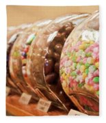 At The Candy Store Fleece Blanket