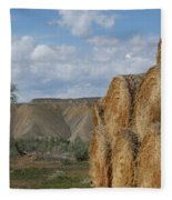 At The End Of Nowhere Road Fleece Blanket
