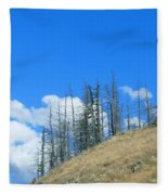 At The End Of The World Fleece Blanket