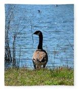 At The Water's Edge Fleece Blanket