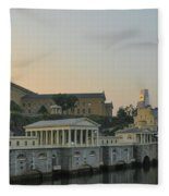 At The Waterworks - Phildelphia Fleece Blanket