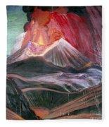 Atl: Volcano, 1943 Fleece Blanket