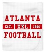 Atlanta Falcons Retro Shirt 2 Fleece Blanket