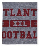 Atlanta Falcons Retro Shirt Fleece Blanket