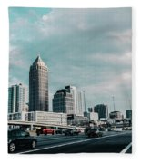 Atlanta Georgia Fleece Blanket