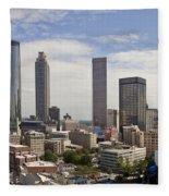 Atlanta Georgia Fleece Blanket