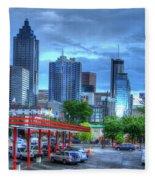 Atlanta Landmark The Varsity Art Fleece Blanket