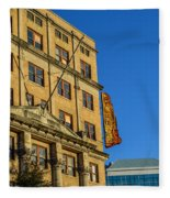 Atlanta Life Sign In Birmingham Alabama Fleece Blanket