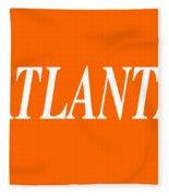 Atlanta Fleece Blanket