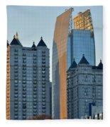 Atlanta Towers Fleece Blanket