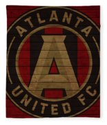 Atlanta United Barn Door Fleece Blanket