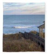 Atlantic Ocean Nc Fleece Blanket