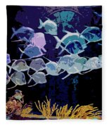 Atlantis Aquarium Fleece Blanket