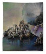 Atlantis Resurrected Fleece Blanket