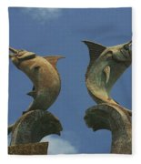 Atlantis Swordfish Fleece Blanket