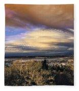 Atmospheric Disturbance Fleece Blanket