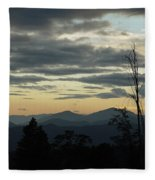Atmospheric Perspective Fleece Blanket