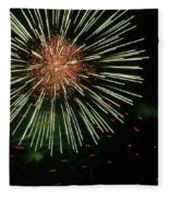 Atom Burst Fleece Blanket