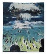 Atomic Fleece Blanket