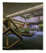 Atrium - Syracuse Ny Fleece Blanket