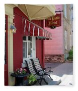 Au Petit Hotel Quebec City  6525 Fleece Blanket