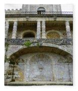 Au Vieux Chateau De Vayres Fleece Blanket