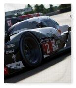Audi R18 E-tron, Le Mans - 09 Fleece Blanket
