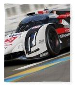 Audi R18 E-tron, Le Mans - 12 Fleece Blanket