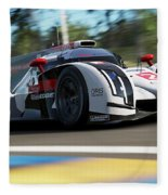 Audi R18 E-tron, Le Mans - 14 Fleece Blanket