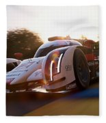 Audi R18 E-tron, Le Mans - 21 Fleece Blanket