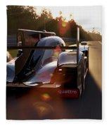 Audi R18 E-tron, Le Mans - 28 Fleece Blanket