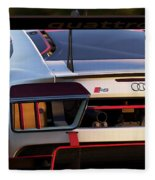 Audi R8 Lms - 06 Fleece Blanket