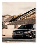 Audi S5 Fleece Blanket