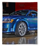 Audi Tt Fleece Blanket