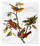 Bunting, 1827 Fleece Blanket