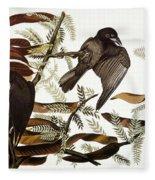 Audubon: Crow Fleece Blanket