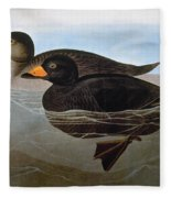 Audubon: Duck, 1827 Fleece Blanket