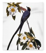Audubon Flycatcher, 1827 Fleece Blanket