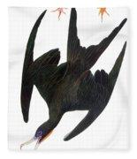 Audubon: Frigatebird Fleece Blanket