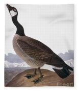 Audubon: Goose, 1827 Fleece Blanket