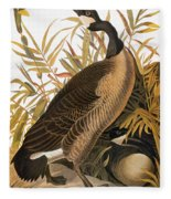 Audubon: Goose Fleece Blanket