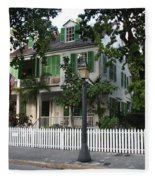 Audubon House Key West Fleece Blanket